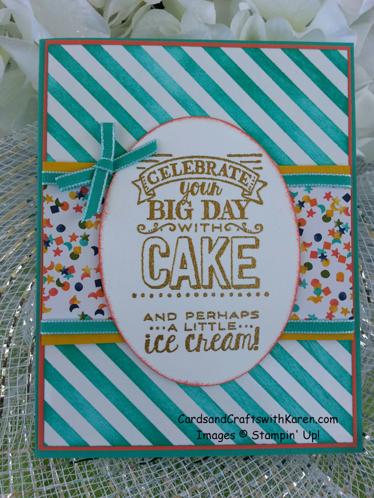 cake & icecream card
