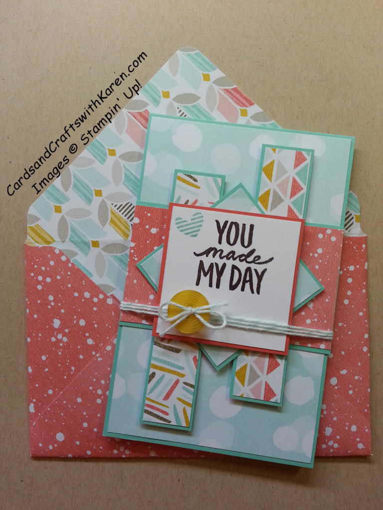 mojo 391 card and envelope