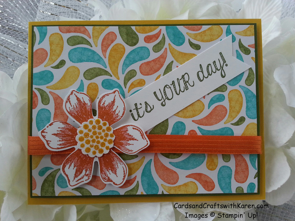 Its Your Day Card April 2015