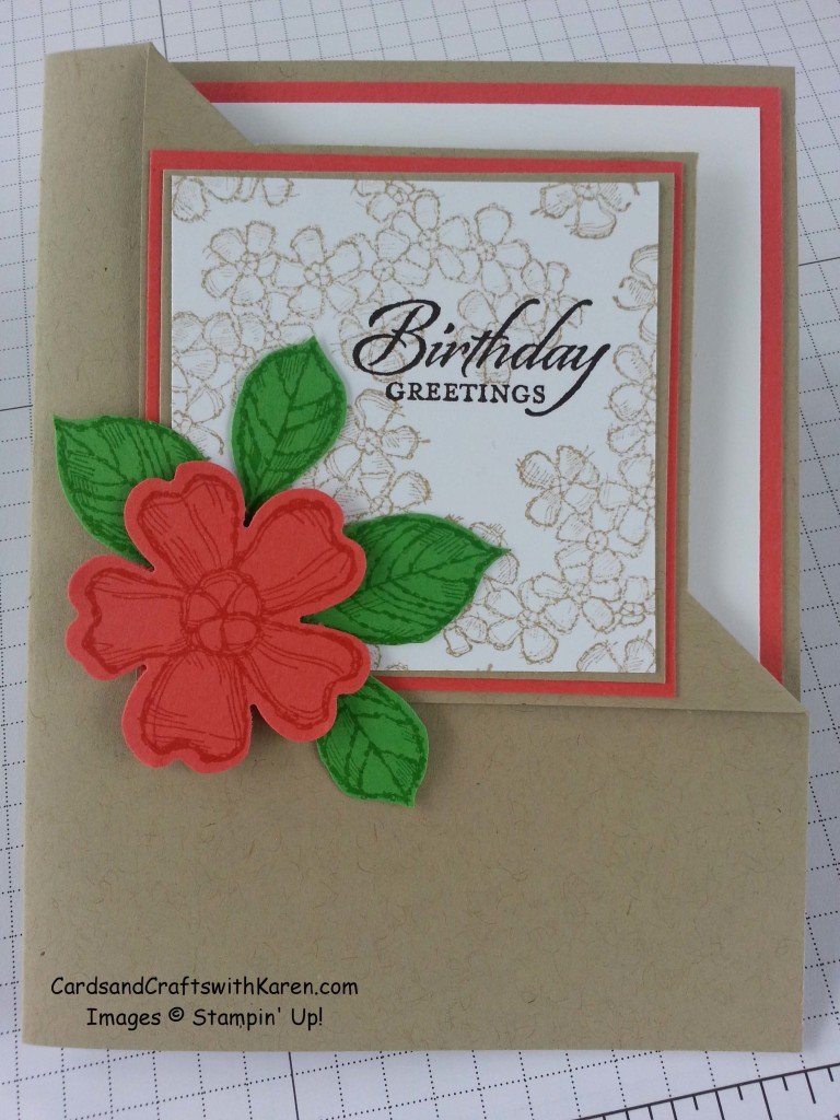 Fancy Corner Fold Card