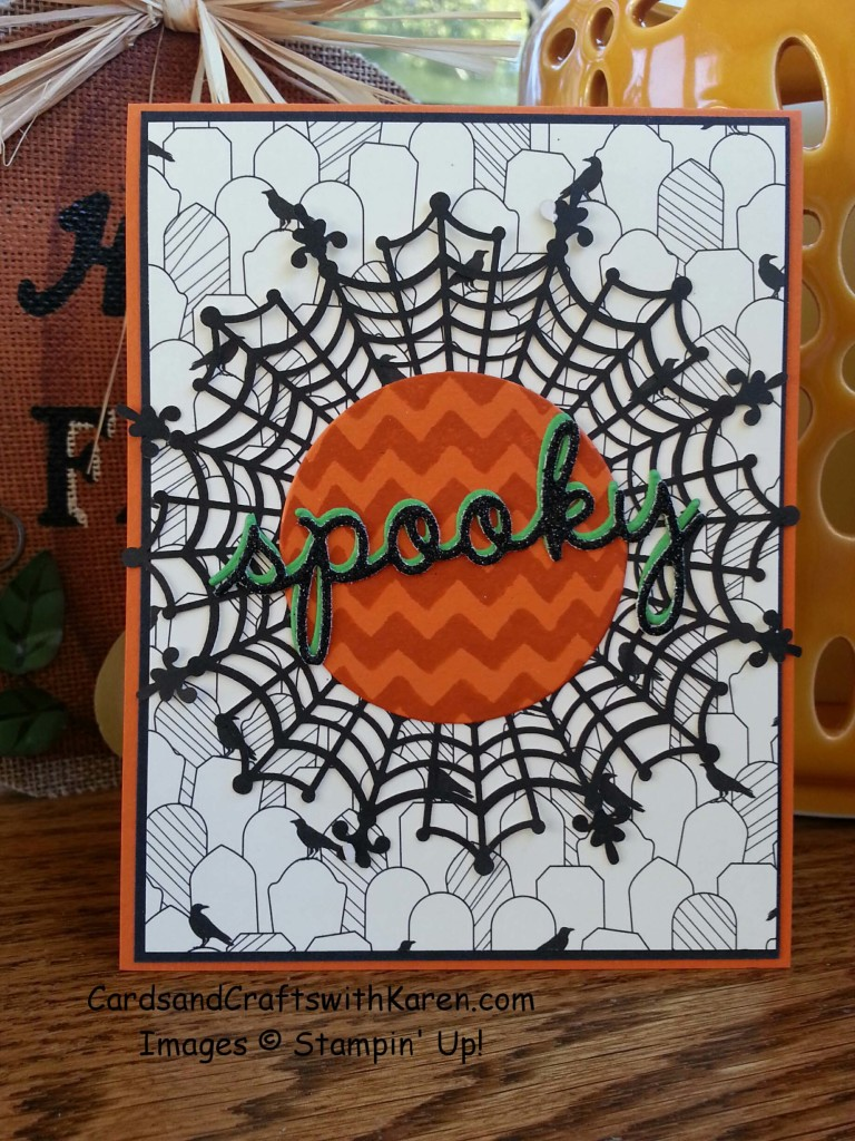 Spooky card Sept class