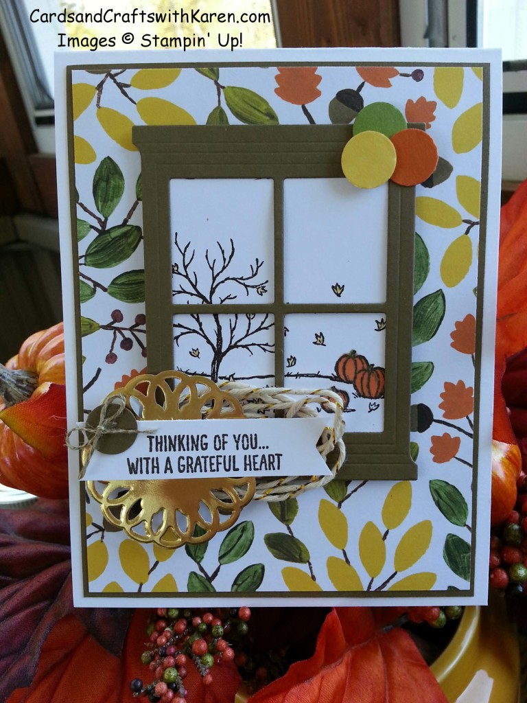 Paper craft crew large card