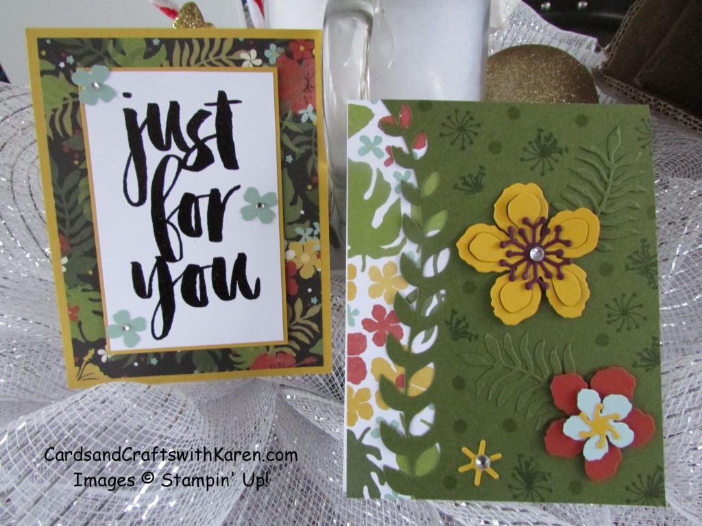 Sunday Stamper Jan16 Botanical cards