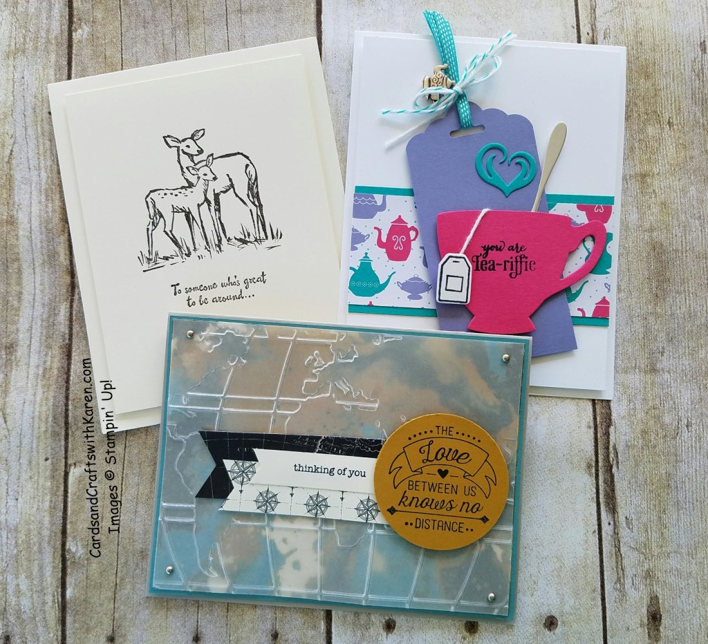 April Sunday Stamper Cards