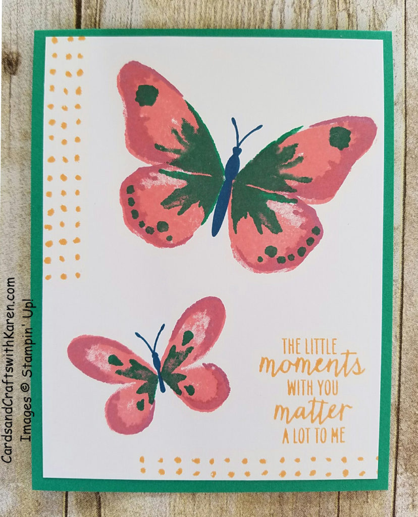 Butterfly Wings New Incolor card