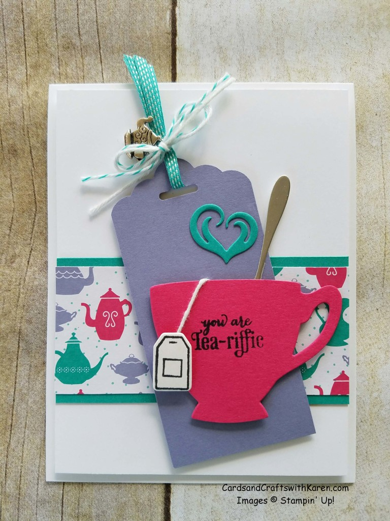 Tea Cup and Bag Card
