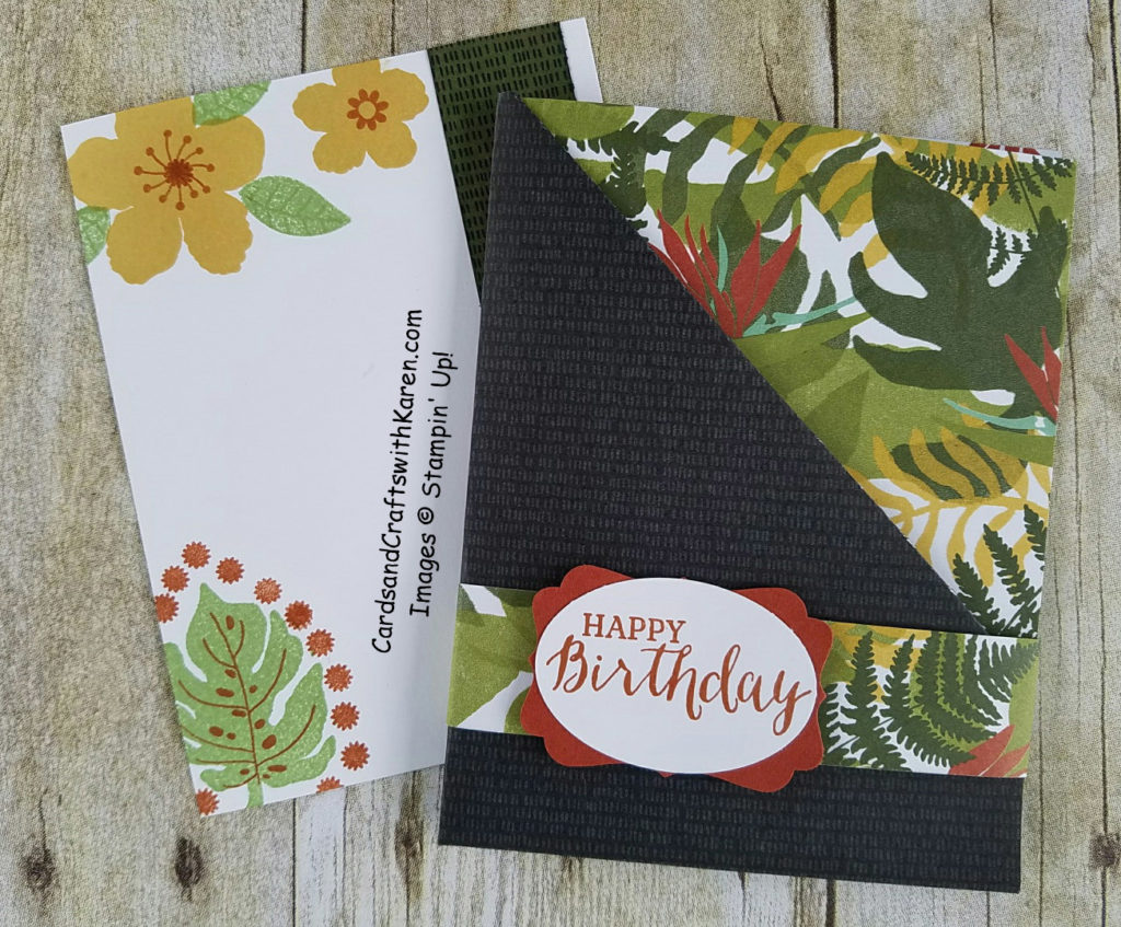 Sunday Stamper Card part 1