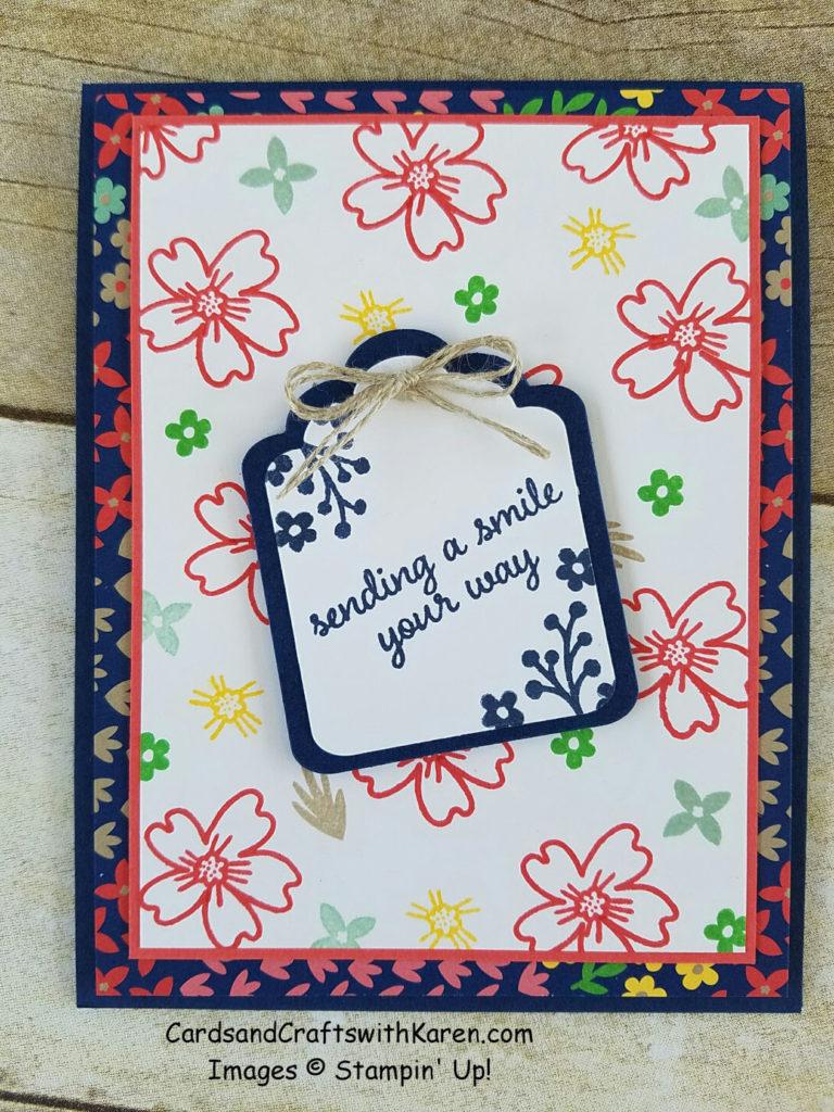 Sending Smile Card