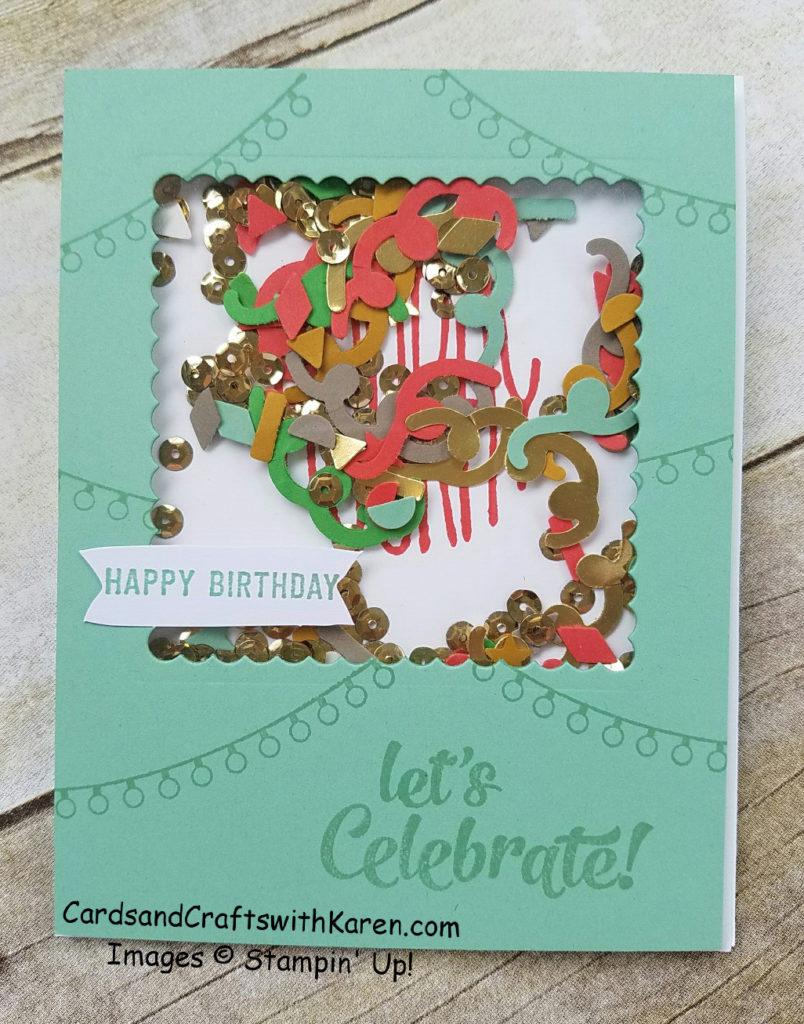 Lets Celebrate Card