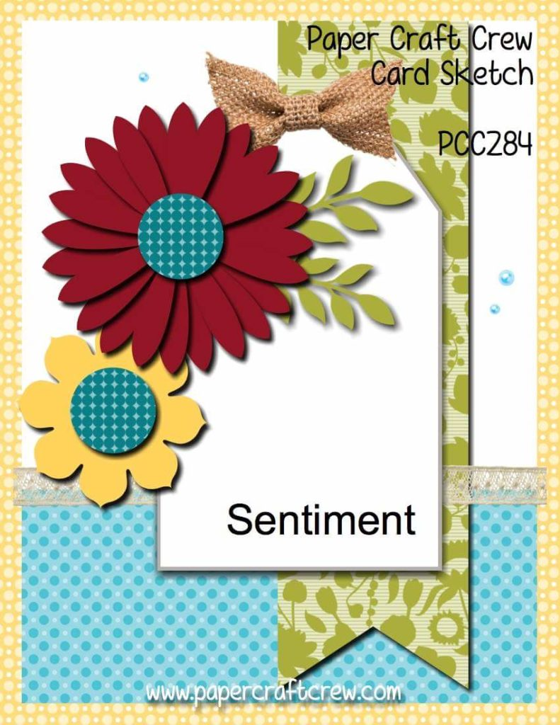 Petal Palette Colored Flowers for PCC284 | Cards and Crafts with Karen